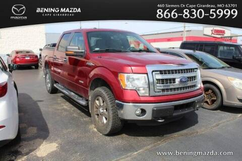 2014 Ford F-150 for sale at Bening Mazda in Cape Girardeau MO
