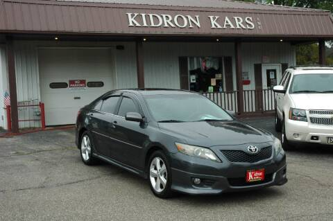 2011 Toyota Camry for sale at Kidron Kars INC in Orrville OH