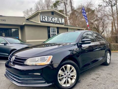2015 Volkswagen Jetta for sale at Regal Auto Sales in Marietta GA