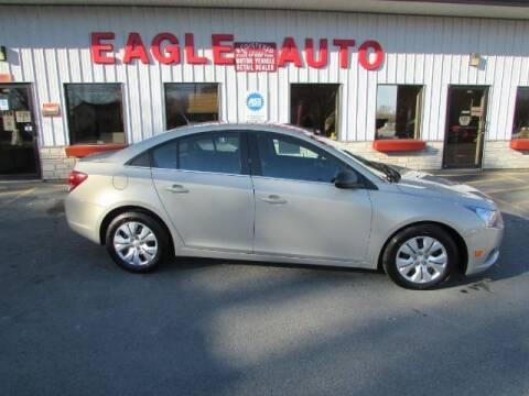 2012 Chevrolet Cruze for sale at Eagle Auto Center in Seneca Falls NY