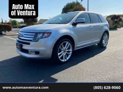 2010 Ford Edge for sale at Auto Max of Ventura - Automax 3 in Ventura CA