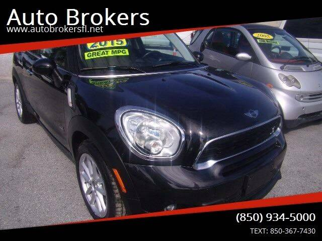 2015 MINI Paceman for sale at Auto Brokers in Gulf Breeze FL