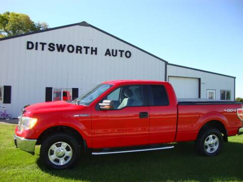 2013 Ford F-150 for sale at Ditsworth Auto Sales in Bancroft IA