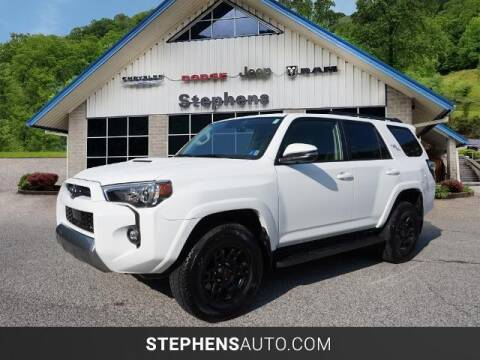 2021 Toyota 4Runner for sale at Stephens Auto Center of Beckley in Beckley WV