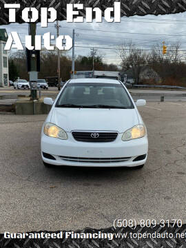 2006 Toyota Corolla for sale at Top End Auto in North Atteboro MA