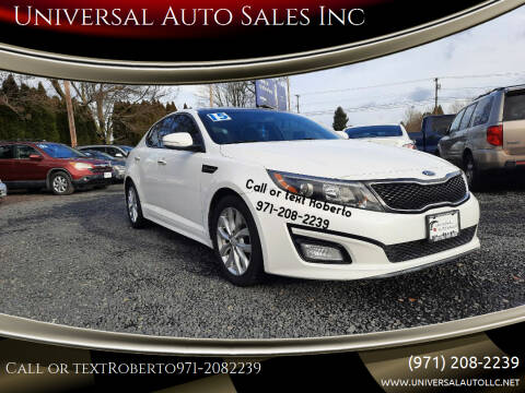 2015 Kia Optima for sale at Universal Auto Sales Inc in Salem OR