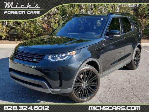 2017 Land Rover Discovery for sale at Mich's Foreign Cars in Hickory NC