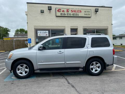 2006 Nissan Armada for sale at C & S SALES in Belton MO