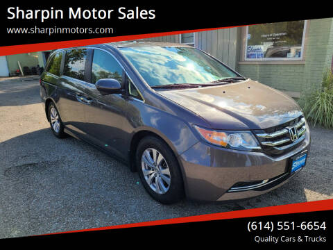 2016 Honda Odyssey for sale at Sharpin Motor Sales in Columbus OH