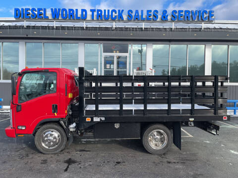 2017 Isuzu NPR HD for sale at Diesel World Truck Sales in Plaistow NH
