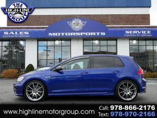 2017 Volkswagen Golf R for sale at Highline Group Motorsports in Lowell MA