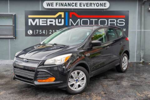 2014 Ford Escape for sale at Meru Motors in Hollywood FL