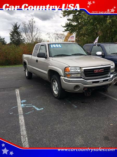 2006 GMC Sierra 1500 for sale at Car Country USA in Augusta NJ