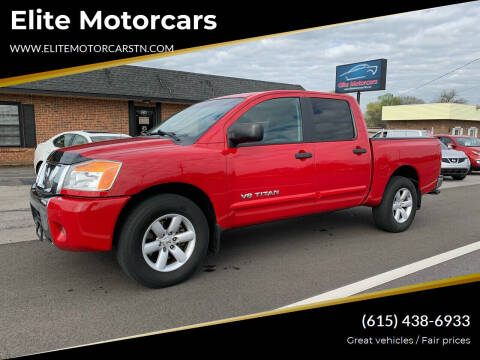 2011 Nissan Titan for sale at Elite Motorcars in Smyrna TN