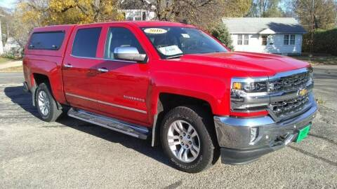 2016 Chevrolet Silverado 1500 for sale at Unzen Motors in Milbank SD