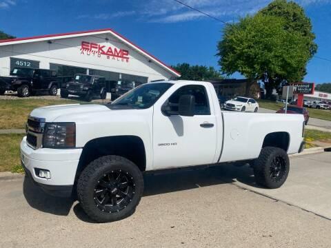 2011 Chevrolet Silverado 3500HD for sale at Efkamp Auto Sales LLC in Des Moines IA