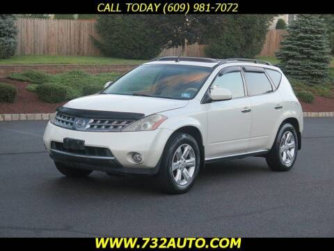 2007 Nissan Murano for sale at Absolute Auto Solutions in Hamilton NJ
