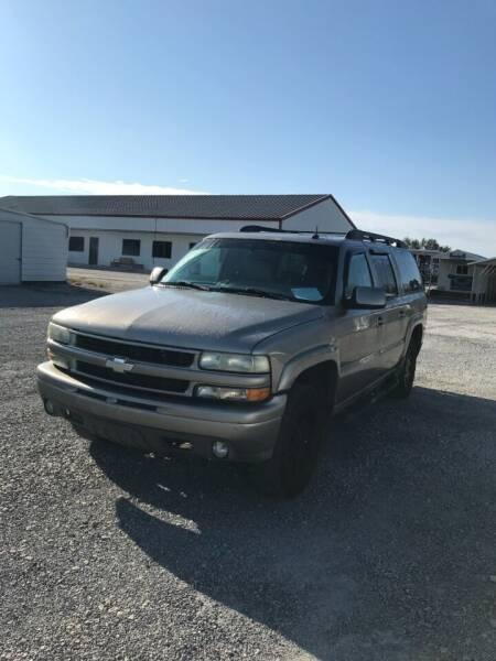 2002 Chevrolet Suburban for sale at CAROLINA TOY SHOP LLC in Hartsville SC
