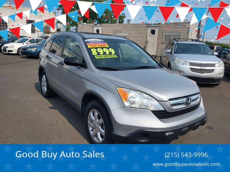 2007 Honda CR-V for sale at Good Buy Auto Sales in Philadelphia PA