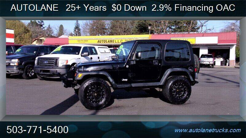 2006 Jeep Wrangler for sale at Auto Lane in Portland OR
