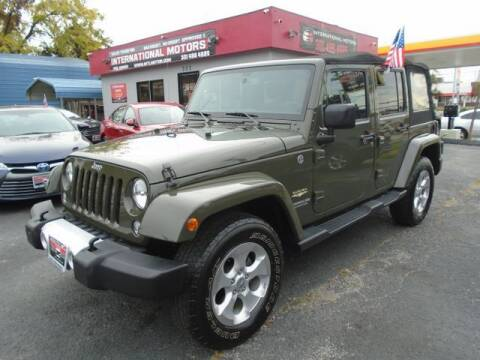 2015 Jeep Wrangler Unlimited for sale at International Motors in Laurel MD