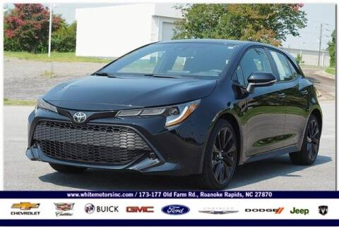 2021 Toyota Corolla Hatchback for sale at WHITE MOTORS INC in Roanoke Rapids NC