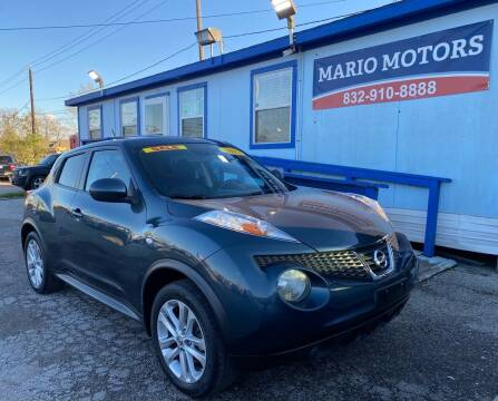 2012 Nissan JUKE for sale at Mario Motors in South Houston TX