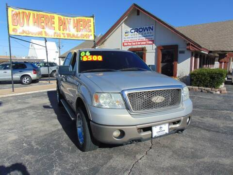 2006 Ford F-150 for sale at Crown Used Cars in Oklahoma City OK