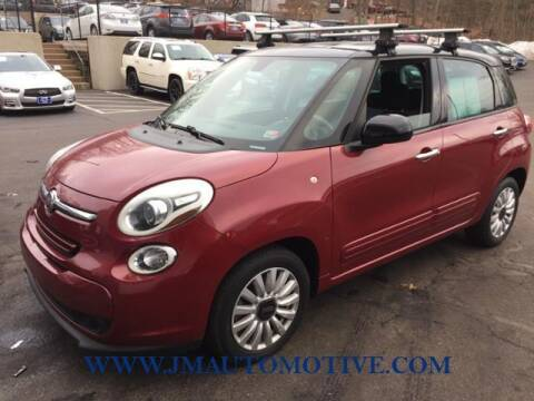 2014 FIAT 500L for sale at J & M Automotive in Naugatuck CT