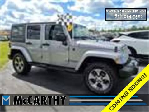 2016 Jeep Wrangler Unlimited for sale at Mr. KC Cars - McCarthy Hyundai in Blue Springs MO