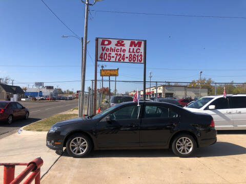 2012 Ford Fusion for sale at D & M Vehicle LLC in Oklahoma City OK