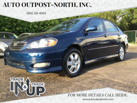 2005 Toyota Corolla for sale at Auto Outpost-North, Inc. in McHenry IL