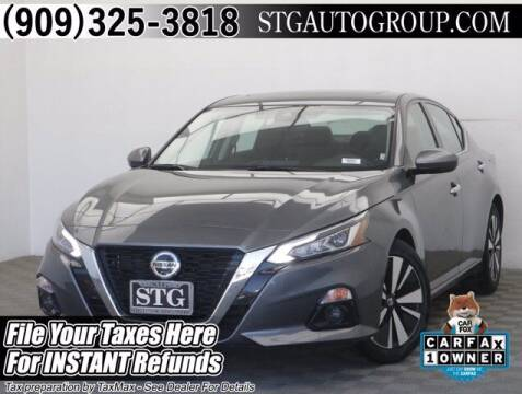 2020 Nissan Altima for sale at STG Auto Group in Montclair CA