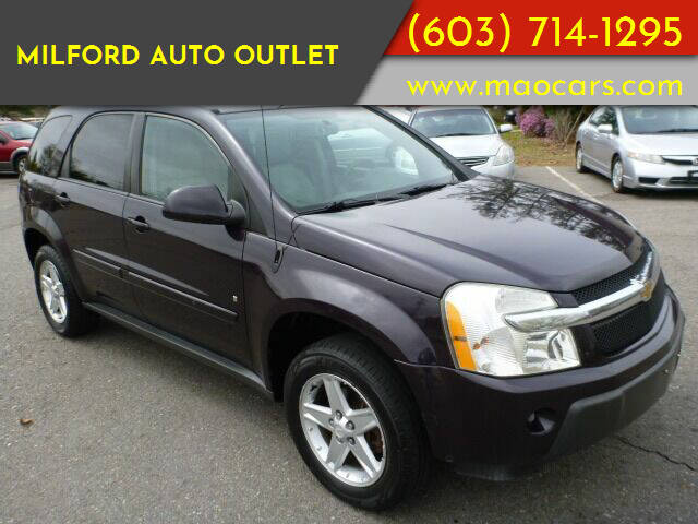 2006 Chevrolet Equinox for sale at Milford Auto Outlet in Milford NH