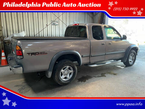 2002 Toyota Tundra for sale at Philadelphia Public Auto Auction in Philadelphia PA