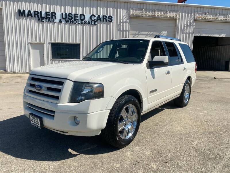 2008 Ford Expedition for sale at MARLER USED CARS in Gainesville TX