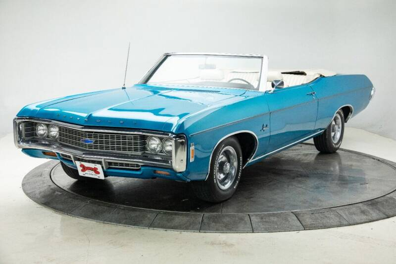 1969 Chevrolet Impala for sale at Duffy's Classic Cars in Cedar Rapids IA