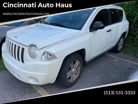 2009 Jeep Compass for sale at Cincinnati Auto Haus in Cincinnati OH