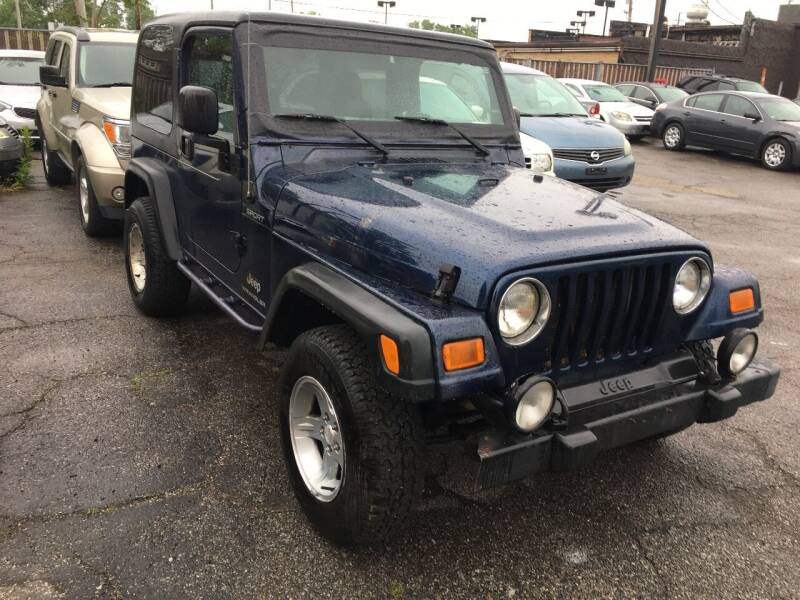 2005 Jeep Wrangler for sale at Payless Auto Sales LLC in Cleveland OH