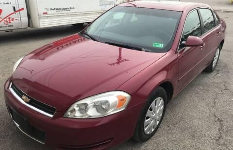 2006 Chevrolet Impala for sale at RACEN AUTO SALES LLC in Buckhannon WV