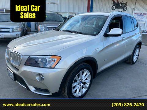 2014 BMW X3 for sale at Ideal Car Sales in Los Banos CA