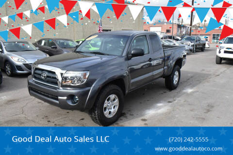 2010 Toyota Tacoma for sale at Good Deal Auto Sales LLC in Denver CO