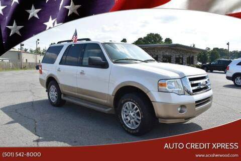 2011 Ford Expedition for sale at Auto Credit Xpress - Sherwood in Sherwood AR