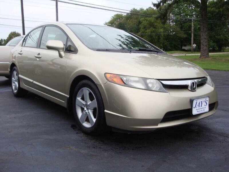 2007 Honda Civic for sale at Jay's Auto Sales Inc in Wadsworth OH