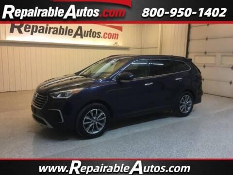 2018 Hyundai Santa Fe for sale at Ken's Auto in Strasburg ND
