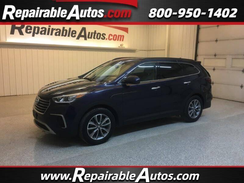 2018 Hyundai Santa Fe for sale at Ken's Auto in Strasburg ND