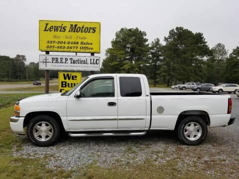 2005 GMC Sierra 1500 for sale at Lewis Motors LLC in Deridder LA