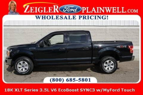 2020 Ford F-150 for sale at Zeigler Ford of Plainwell- Jeff Bishop in Plainwell MI