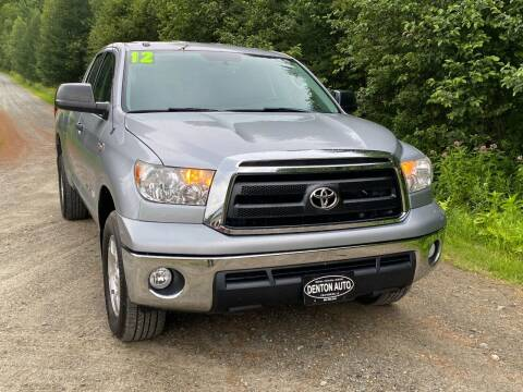 2012 Toyota Tundra for sale at Denton Auto Inc in Craftsbury VT