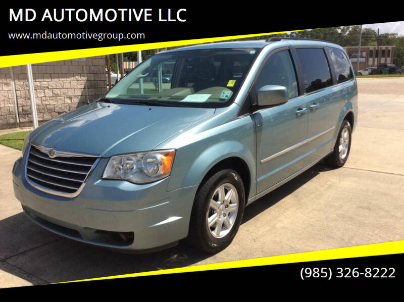 2010 Chrysler Town and Country for sale at MD AUTOMOTIVE LLC in Slidell LA